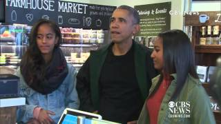 Download President Obama Goes Shopping With Malia & Sasha on Small Business Saturday! Video