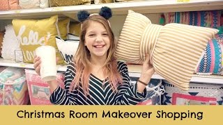 Download After School Christmas Room Makeover Shopping | Target & Hobby Lobby Video