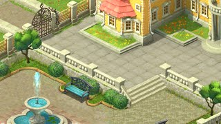Download GARDENSCAPES NEW ACRES Android/ iOS Gameplay | First Steps the Beginning Video