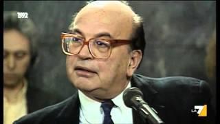 Download L'interrogatorio pubblico di Di Pietro a Bettino Craxi nel processo Cusani Video