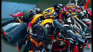 Download Transformers Age of Extinction - Bumblebee meets Stinger Scene (1080pHD VO) Video