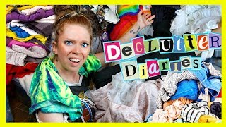 Download CLOTHES I've HOARDED for 25+ YEARS *shocking* - Declutter Diaries Video