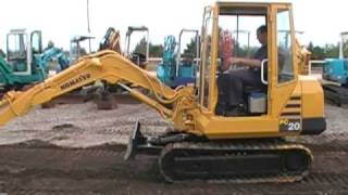 Download Komatsu PC20 Video
