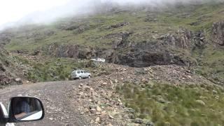Download Sani Pass 4x4 trip. 3 MINUTE DRIVE NEAR THE TOP OF SANI PASS . Video