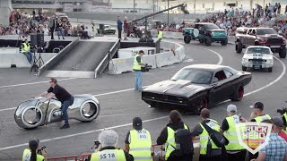 Download SEMA Cruise 2018 - 3 1/2 hour parade of custom vehicles leaving SEMA - brought to you by Truck Hero Video