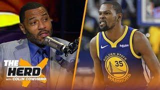 Download Kenyon Martin says KD should've addressed Draymond's 'very disrespectful' behavior | NBA | THE HERD Video