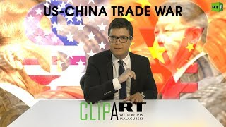 Download US-China Trade War: Clipart with Boris Malagurski Video