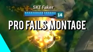 Download Pro Players Fails Montage | (League of Legends) Video