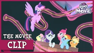 Download The Mane 6 Escape From Tempest To Mount Aris! | My Little Pony: The Movie [Full HD] Video