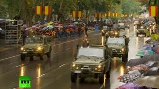 Download Military parade in Madrid on National Day Video