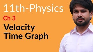 Download 11th Class Physics, Ch 3 - Velocity Time Graph - FSc Physics part 1 Video