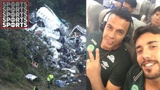 Download Plane Carrying Brazilian Football Team Crashes On Way to Cup Final Video