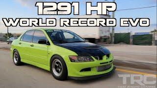 Download Mitsubishi Evo World Record 1291HP - ″The Family Sedan″ Video
