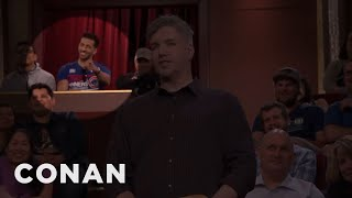 Download Conan Erased A Hammy Audience Member - CONAN on TBS Video