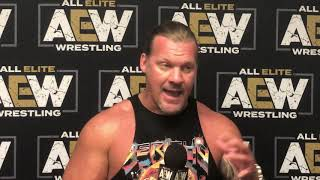 Download Chris Jericho talks WWE, Hangman Page and more: AEW Fight For The Fallen post-show media scrum Video