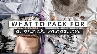 Download Pack With Me! Suitcase + Carry On for Beach Vacation Video