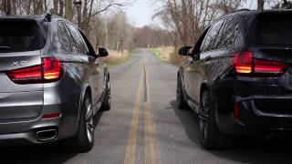 Download X5 M vs X5 50i (Collection Video) RACE @ :59 REVS+LAUNCH Video