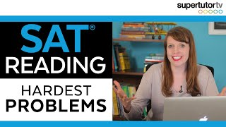 Download 😰The Hardest SAT Reading Problems!!😰 Video