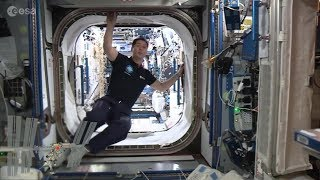 Download Full Space Station tour with Thomas (in French) Video