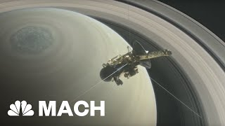 Download Cassini Will Crash Into Saturn After Its 'Grand Finale' Mission | Mach | NBC News Video