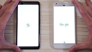 Download Google Pixel 2 XL vs Pixel XL - Speed Test! (4K) Video
