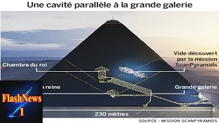 Download Pyramide de Khéops : détection d'une grande cavité inconnue au cœur de l'édifice Video