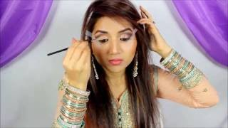 Download Makeup Tutorial | Engagement Arab Eye Makeup | Fictionally Flawless Video