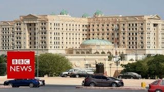 Download Inside Saudi Arabia's gilded prison at Riyadh Ritz-Carlton - BBC News Video