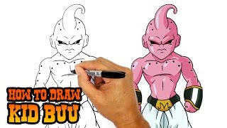Download How to Draw Kid Buu | Dragon Ball Z Video