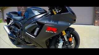 Download MY NEW BIKE | First Time Riding | Black 2016 Suzuki GSX-R 750 L6 Video