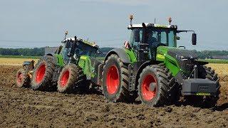 Download Fendt 1050 en 939 goed voor 900 PK, Van Werven diepploegen Tiefpflügen Trekkerweb deep ploughing Video