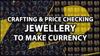 Download Path of Exile 3.0: MEGA Jewellery Crafting Session - Crafting & Price Checking To Make Currency Video
