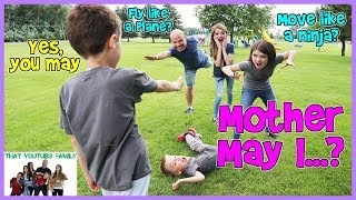 Download Mother May I? Game / That YouTub3 Family Video