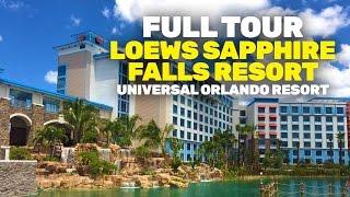 Download NEW Loews Sapphire Falls Resort full walkthrough tour at Universal Orlando Video