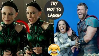 Download Thor: Ragnarok Hilarious Bloopers and Gag Reel - Full Outtakes 2018 Video