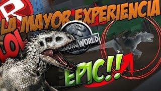 Download LA MAYOR EXPERIENCIA VIVIDA EN JURASSIC WORLD!!! MEJOR RECREACIÓN JURASSIC WORLD EN ROBLOX #1 Video