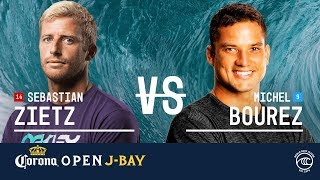 Download Sebastian Zietz vs. Michel Bourez - Round of 16, Heat 6 - Corona Open J-Bay 2019 Video