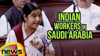 Download Sushma Swaraj Speaks About Indian Workers In Saudi Arabia | Rajya Sabha | Parliament Session Video
