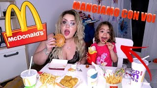 Download MANGIAMO CON VOI MCDONALD'S / muckbang chiara e lara Video