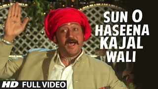 Download Sun O Haseena Kajal Wali [Full HD Song] | Sangeet | Jackie Shroff, Madhuri Dixit Video