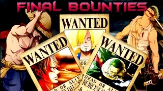 Download Straw Hats Bounties/Wanted - At The End Of One Piece - Theory/Predictions HD Video