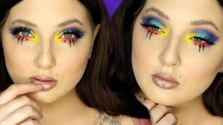 Download BRIGHT NEON GLAM | Makeup Tutorial Video