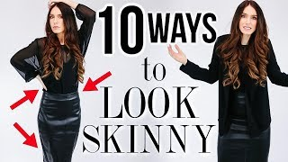 Download 10 Ways To INSTANTLY Look SKINNY (but in a GOOD way) Video