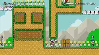 Download Super Mario Maker - 100 Mario Challenge - Super Expert Difficulty #35 Video