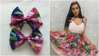 Download Faça seu vestido de Festa Junina - Laço de chita Video