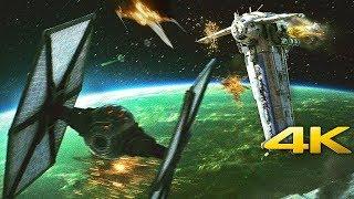 Download Star Wars: The Last Jedi | Dreadnought Battle - Bomber Scene (4K ULTRA HD) Video
