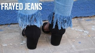 Download DIY FRAYED JEANS | Angela Henche Video