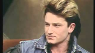 Download Bono on the 'Late Late Show' - 1983 Video