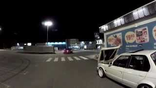 Download Two BMW E30 M50 turbo fooling around Video