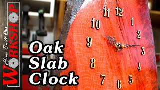 Download How to build an oak slab clock Video